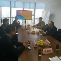 上海敏硕公司总经理曾志刚来访流通一号店总部【图】