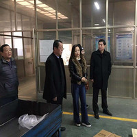 山东省轴协一行四人陪同杨庆生理事长调研临清部分企业