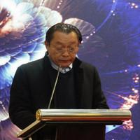 轮值理事长杨庆生代表临清轴承协会答谢社会各界朋友
