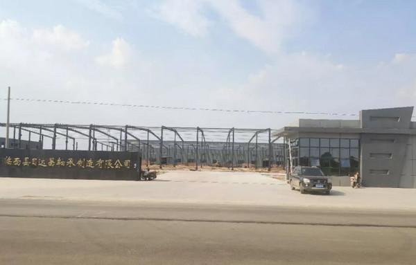 河北:日达昌bwinapp最新版精密汽车bwinapp最新版生产项目试生产