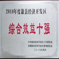 """协同轴承荣获2018年度歙县经济开发区""""综合效益十强""""(图)"""