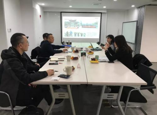 芜湖市鸠江区领导一行莅临浙江光越传动科技有限公司指导交流工作