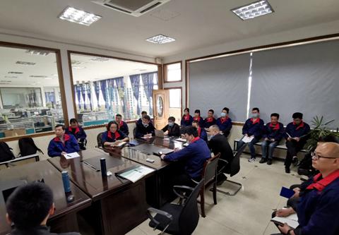 海峰海林(淮安)精密轴承有限公司精益导入项目启动会