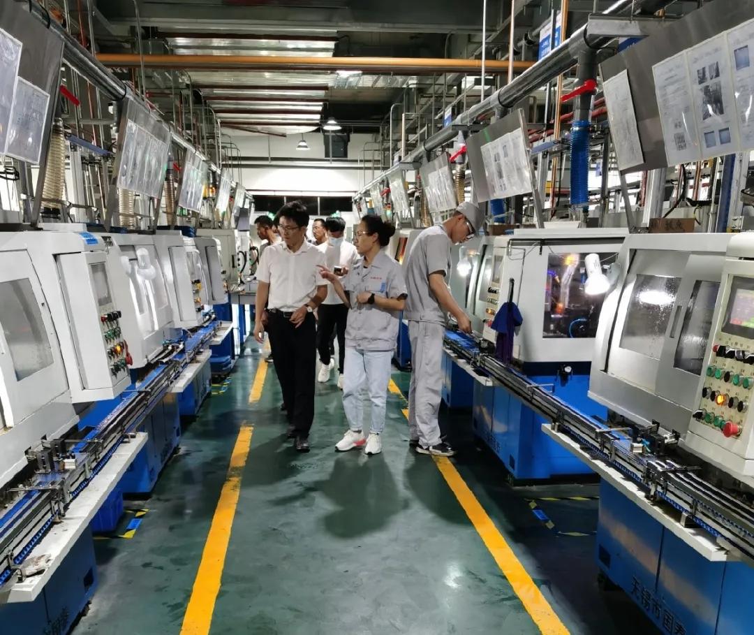 促进精准就业 宁夏大学机械工程学院实地走访银川bwinapp最新版智造小镇有限公司