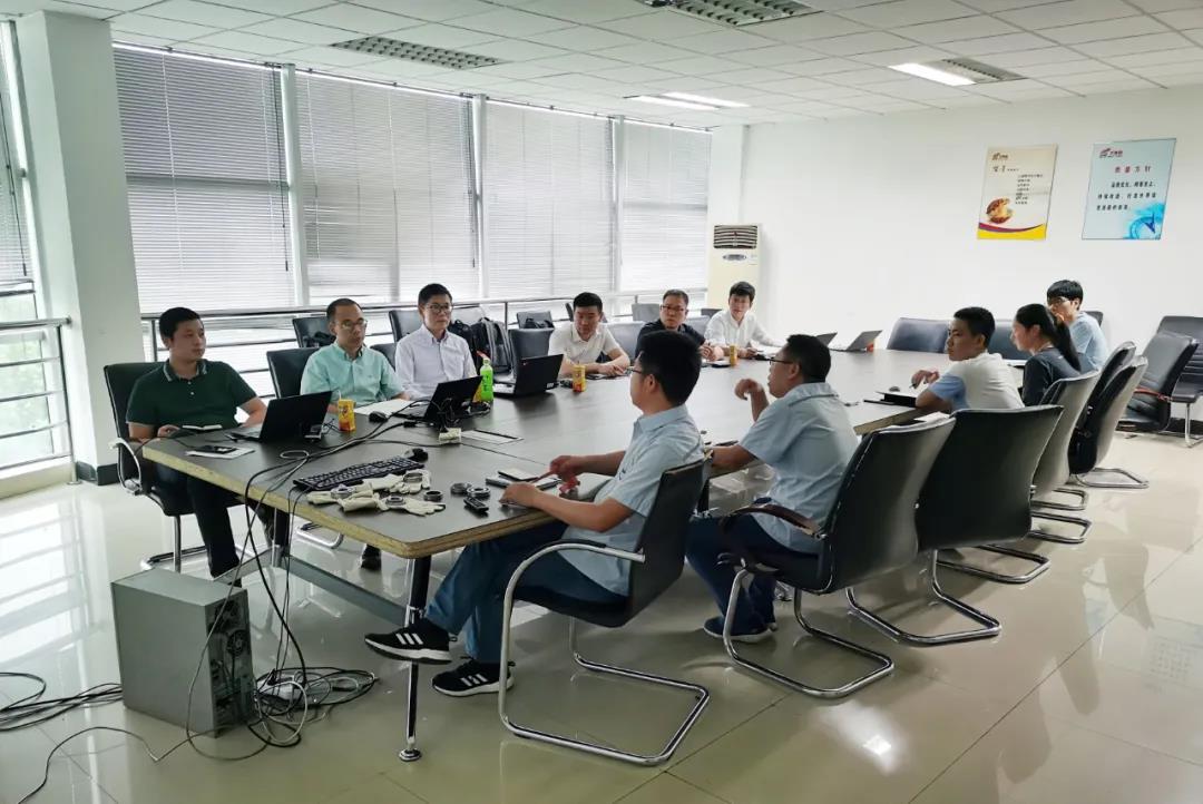 浙江光越与芜湖万里扬举行技术座谈会(图)