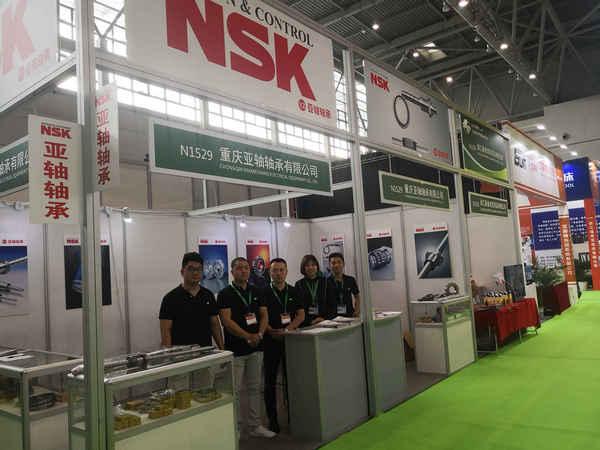 """NSK分销商""""重庆亚轴""""亮相2019第20届立嘉国际智能装备展览会(图)"""