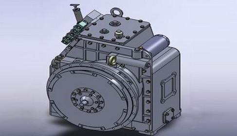 微调阀首先要保证档位操纵阀的油压,在此,液压油可通过手动操纵挂档进图片