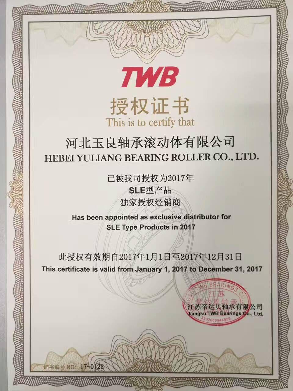 TWB授权