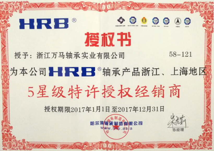 HRB授权