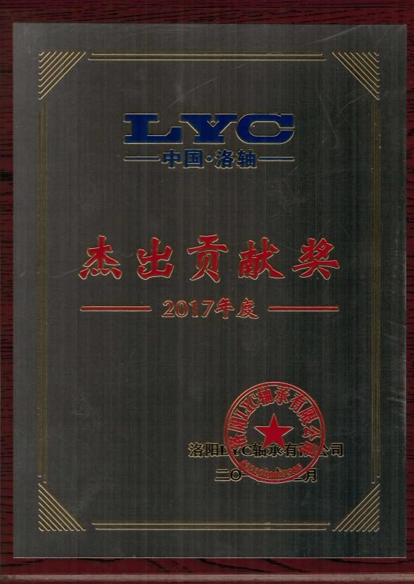 LYC杰出贡献奖