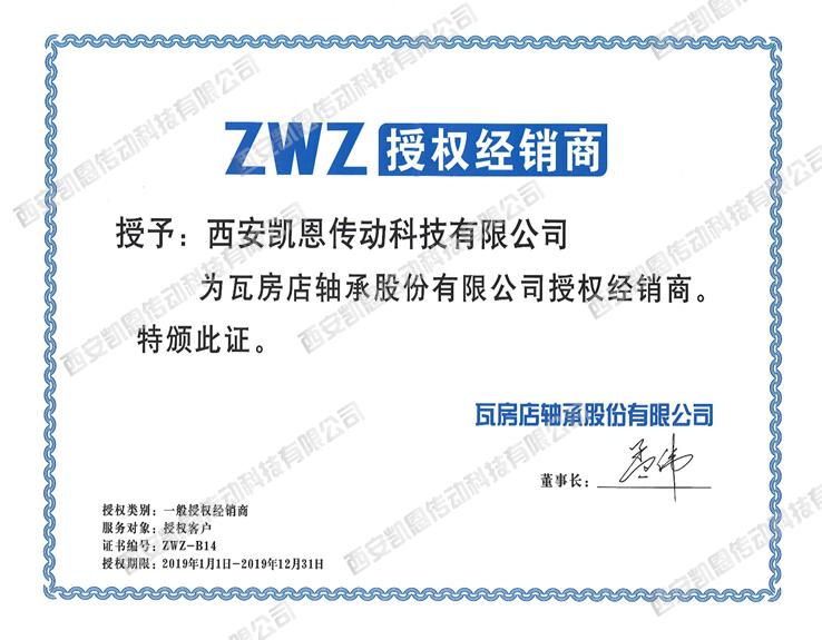2019年ZWZ授权书