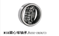 NSK调心球轴承/6202-2RSH/C3