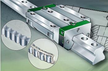 直线循环滚柱系统RUE
